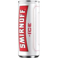 Vodka SMIRNOFF ICE, lata 25 cl