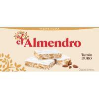 Turrón duro suprema EL ALMENDRO, caja 250 g