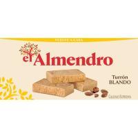 Turrón blando suprema EL ALMENDRO, caja 250 g