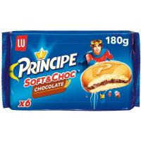 Galleta Soft&Choc de chocolate PRÍNCIPE, caja 180 g