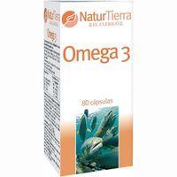 Omega3 NATURTIERRA, caja 80 unid.