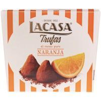 Trufas de naranja LACASA, caja 200 g