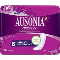 Compresa maxi AUSONIA Discreet, paquete 12 unid.
