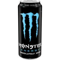 Bebida energética Absolutely zero MONSTER, lata 50 cl