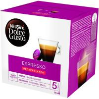 Café Espresso descaf. Intenso NESCAFÉ Dolce Gusto, caja 16 unid.
