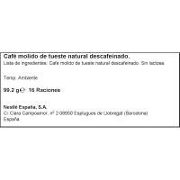 Café Espresso desca. Intenso NESCAFÉ D. Gusto, caja 16 monodosis