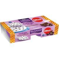 Prepa. lácteo sin lactosa griego stracciatela DHUL, pack 2x125 g