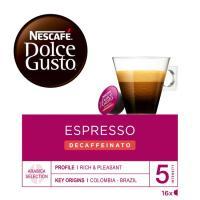 Café descaf. intens. Nº 5 NESCAFÉ Dolce Gusto, caja 16 monodosis
