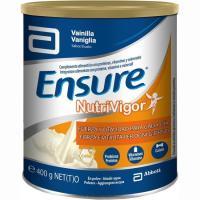 Complemento nutritivo de vainilla ENSURE Nutrivigor, lata 400 g