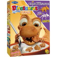 Dinosaurus de cereal a cucharadas ARTIACH, caja 350 g