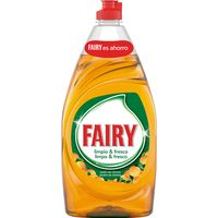Lavavajillas a mano naranja FAIRY, botella 820 ml