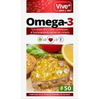 Perlas de Omega3 VIVE+, caja 48 cápsulas