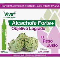 Alcachofa Forte VIVE+, bote 12 viales