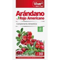 Arándano rojo VIVE+, bote 30 cápsulas