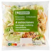 Ensalada 4 estaciones EROSKI, bolsa 250 g