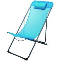 Silla playa de acero-textileno 90x85x56 cm 3,4 kg Sunny, 1 ud