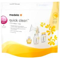 Quick Clean bolsas para microondas MEDELA, caja 5 unid.