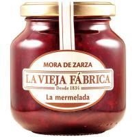 Mermelada de zarzamora LA VIEJA FABRICA, frasco 350 g