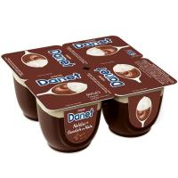 Natillas Doble Placer chocolate-nata DADONE Danet, pack 4x100 g