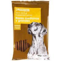 Hueso dental para perro EROSKI, paquete 180 g