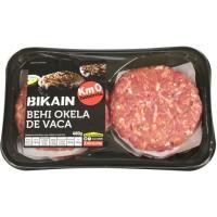 Hamburguesa de vaca BIKAIN, 4 unid, bandeja 480 g