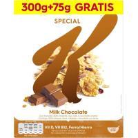 Cereales de chocolate con leche KELLOGG`S Special K, caja 375 g