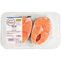 Rodaja de salmón EROSKI Natur GGN, bandeja 300 g