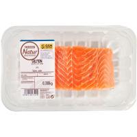 Lomo de salmón EROSKI Natur GGN, bandeja 300 g