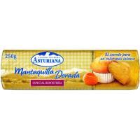 Mantequilla para reposteria ASTURIANA, rulo 250 g