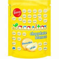 Grageas de chocolate blanco LACASITOS, bolsa 150 g