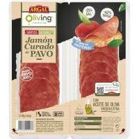 Jamón curado de pavo ARGAL, bandeja 80 g