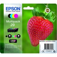 Pack de cartuchos de tinta original, 4 colores T2986 EPSON, 1 ud