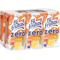 Bifrutas Zero tropical PASCUAL, pack 6x200 ml