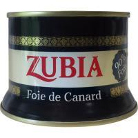 Foie de canard ZUBIA, lata 130 g