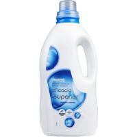 Detergente líquido eficacia superior EROSKI, garrafa 40 dosis