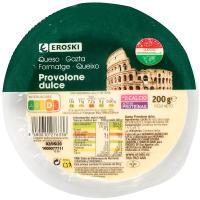 Queso Provolone Dolce EROSKI, tarrina 200 g