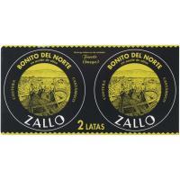 Bonito en aceite de oliva ZALLO, pack 2x65 g