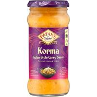 Salsa Korma PATAK`S, frasco 350 g