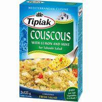 Couscous Citron TIPIAK, caja 250 g