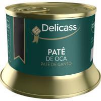 Mousse de foie de oca DELICASS, lata 130 g
