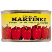Pimiento morrón entero MARTINEZ, lata 60 g