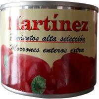 Pimiento morrón entero MARTINEZ, lata 125 g