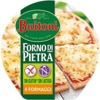 Pizza sin gluten 4 formaggi BUITONI, caja 360 g