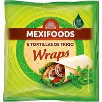 Burritos MEXIFOODS, bolsa 370 g