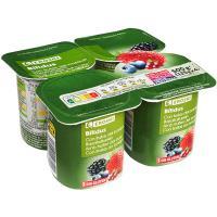 Yogur Biactive con frutas del bosque