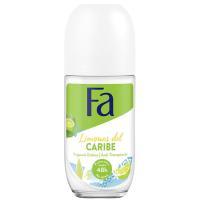Desodorante para mujer Limones del Caribe FA, roll on 50 ml