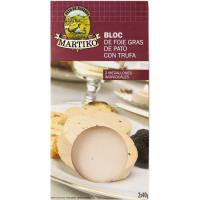 Bloc de foie gras de pato con trufa MARTIKO, pack 2x40 g