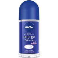 Desodorante para mujer NIVEA Protege&Cuida, roll on 50 ml