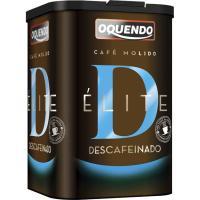Café elite descafeinado OQUENDO, paquete 250 g