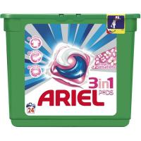 Detergente en cápsulas 3en1 ARIEL Sensaciones, 24 dosis